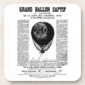 Vintage Balloons Drink Coaster