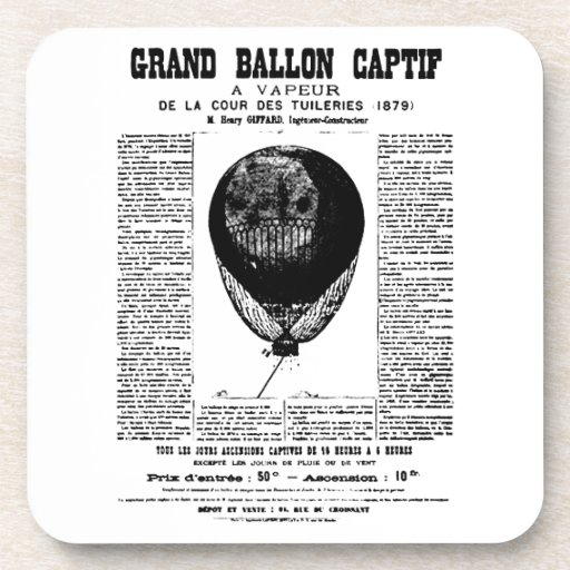 Vintage Balloons Coaster