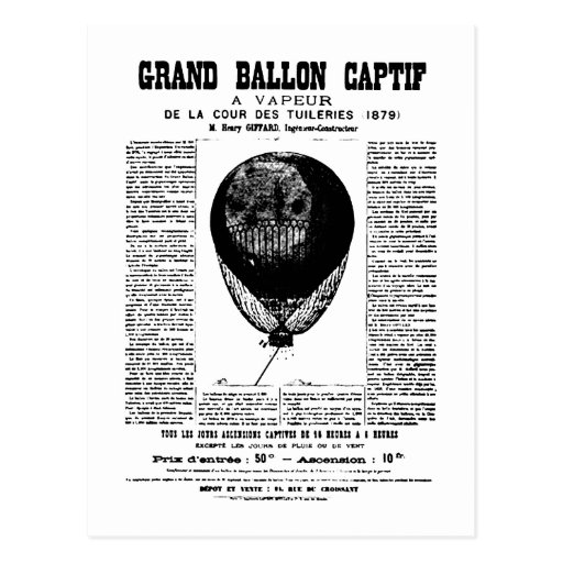 Vintage Balloons Post Cards