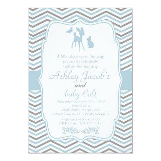"Vintage Bambi Deer Woodland baby Shower invitation 5"" X 7"" Invitation Card"