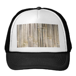 Vintage bamboo fence cap
