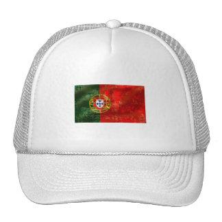 Vintage Bandeira Portuguesa por Fás de Portugal Trucker Hat