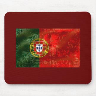 Vintage Bandeira Portuguesa por Fás de Portugal Mousepad