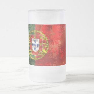 Vintage Bandeira Portuguesa por Fás de Portugal Coffee Mug