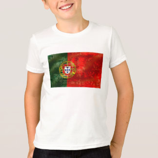 Vintage Bandeira Portuguesa por Fás de Portugal T-shirt