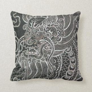 Vintage Bangkok Dragon Cushion