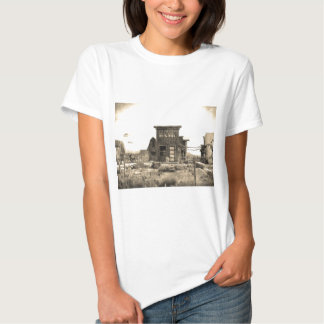 Vintage Bank Building Tee Shirts