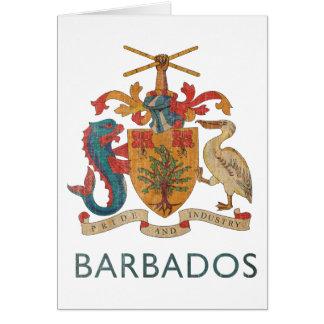 Vintage Barbados Card