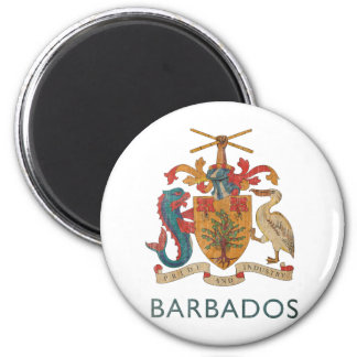 Vintage Barbados Magnet
