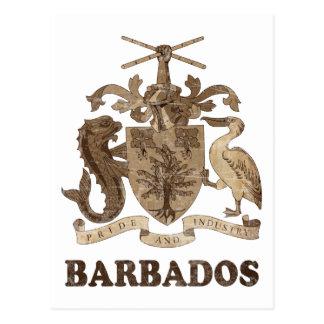 Vintage Barbados Postcard