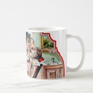 Vintage Barber Shop Shaving Coffee Mug