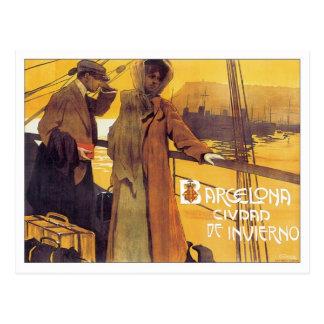Vintage Barcelona Ciudad Postcards