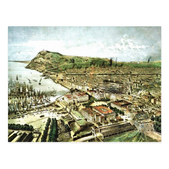 Vintage Barcelona Spain Postcard