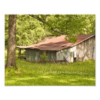 Vintage Barn in Spring Green - Tennessee Photo Print