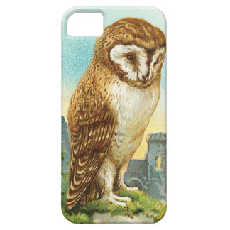 Vintage Barn Owl Barely There iPhone 5 Case