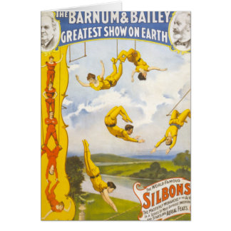 Vintage Barnum and Bailey Circus Greeting Cards