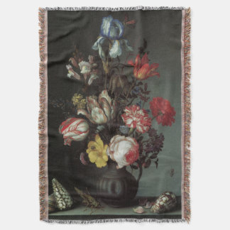 Vintage Baroque Flowers by Balthasar van der Ast