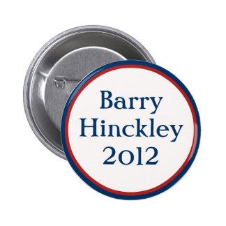 Vintage Barry Hinckley Button