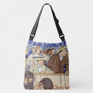 Vintage Baseball Ad Sports Fans Game Tote Bag