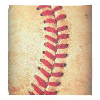 Vintage baseball ball bandana
