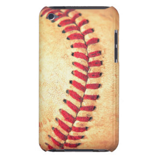 Vintage baseball ball barely there iPod cases