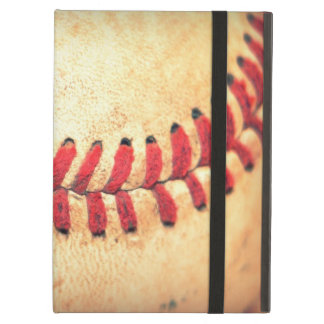 Vintage baseball ball iPad air case