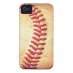 Vintage baseball ball iPhone 4 Case-Mate case