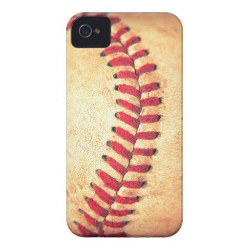 Vintage baseball ball iPhone 4 Case-Mate case