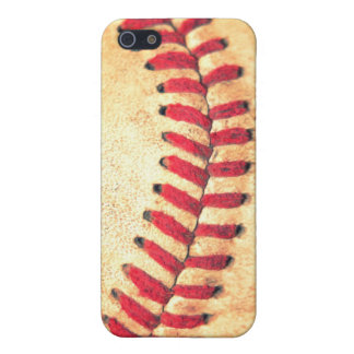 Vintage baseball ball iPhone 5/5S case