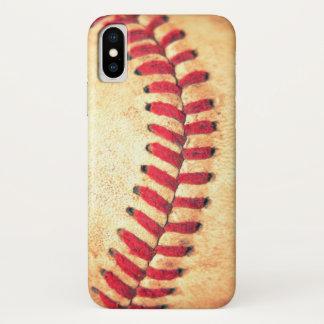 Vintage baseball ball iPhone x case