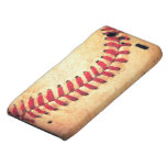 Vintage baseball ball motorola droid RAZR cases