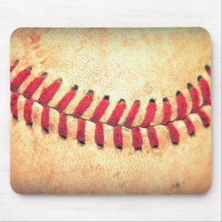 Vintage baseball ball mouse mat