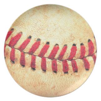 Vintage baseball ball plate