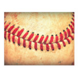 Vintage baseball ball post cards