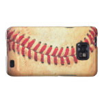 Vintage baseball ball samsung galaxy s cases