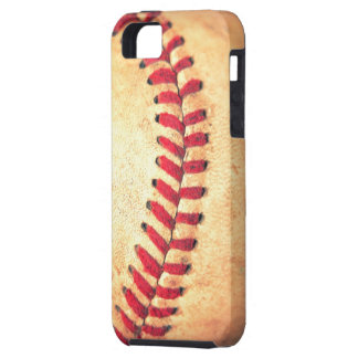 Vintage baseball ball tough iPhone 5 case