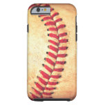 Vintage baseball ball tough iPhone 6 case