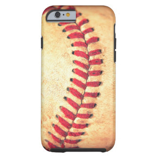 Vintage baseball ball tough iPhone 6 case