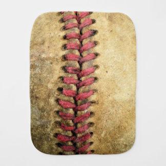 Vintage Baseball Burp Cloth