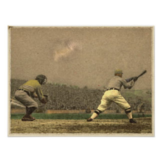Vintage Baseball Collection Poster
