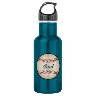 Vintage Baseball Dad Father's Day Gift 532 Ml Water Bottle