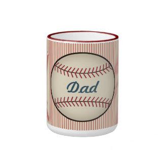 Vintage Baseball Dad Mug
