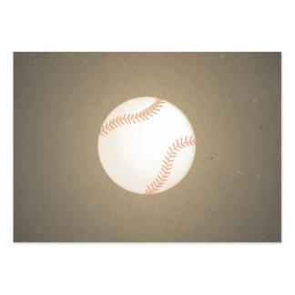 Vintage Baseball Design Sport Pattern Business Cards