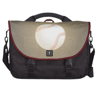 Vintage Baseball Design. Sport Pattern Laptop Bags