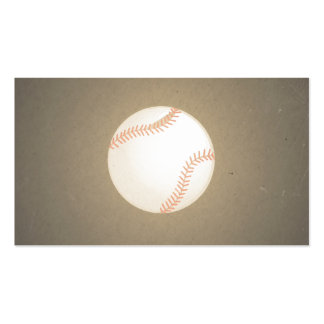 Vintage Baseball Design. Sport Pattern Pack Of Standard Business Cards