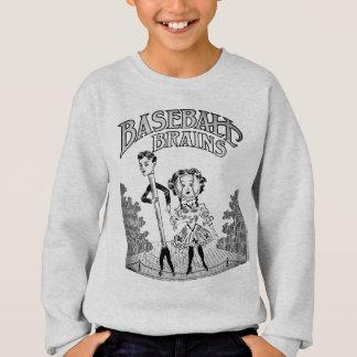 Vintage Baseball Design Sweatshirt
