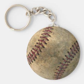 Vintage Baseball Key Ring