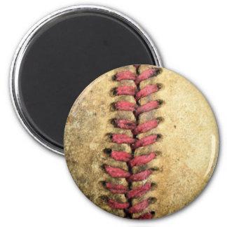 Vintage Baseball Magnet