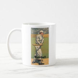 Vintage Baseball Mug 1911