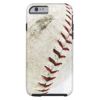 Vintage Baseball or Softball Stitches Tough iPhone 6 Case